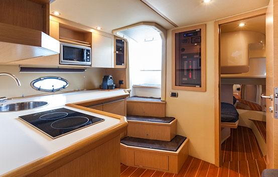 Ibiza motor boat charter Primatist G41 Abbate
