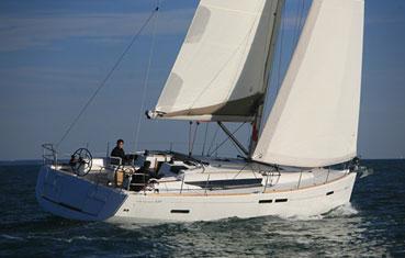 Ibiza sailboat charter Jeanneau 439