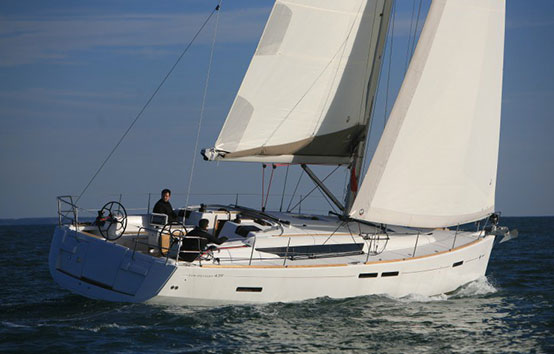 Ibiza sailboat on charter Jeanneau 439