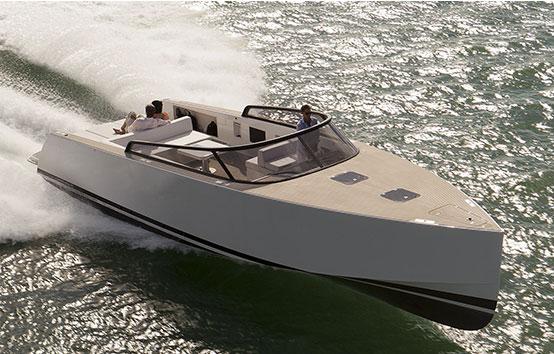 Ibiza motorboat charter Botafoch Van Ducht 40