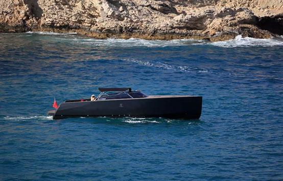 Ibiza motorboat charter Van Ducht 40 Marina Botafoch