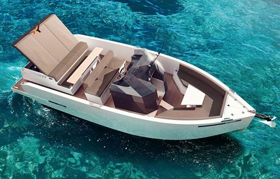 De Antonio d28 Ibiza motor boat charter