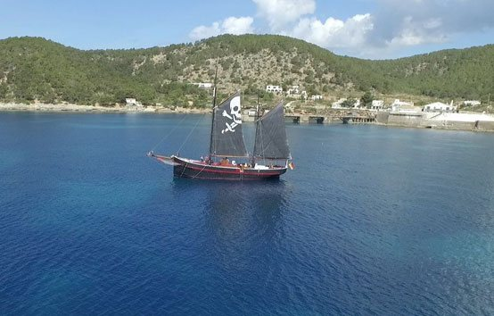 Ibiza event sailboat charter