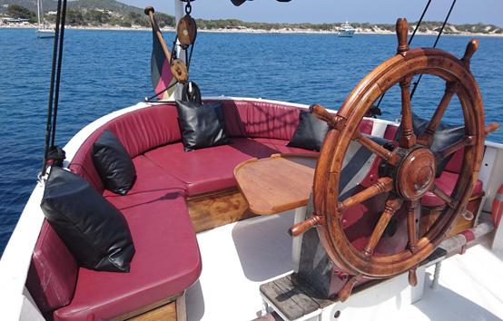 Ibiza event sailboat charter
