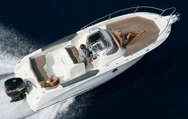 Ibiza motorboat charter Karlic 702