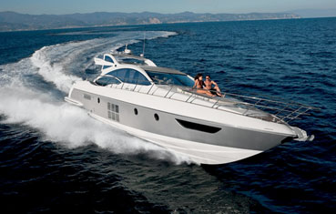Ibiza yacht charter Azimut 62s