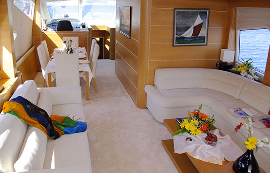 Yacht Pruva 78 interior