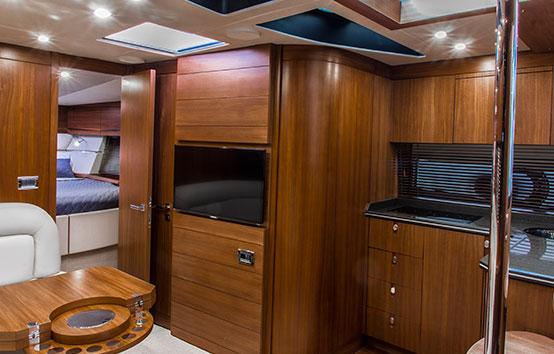 Ibiza Yacht Charter Sunseeker Portofino 40 Saloom