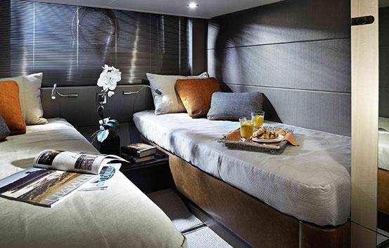 Ibiza Yacht Charter Sunseeker Portofino 40 Twin cabin