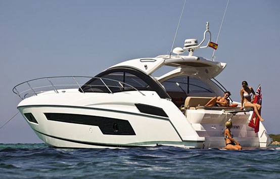 Ibiza Yacht Charter Sunseeker Portofino 40