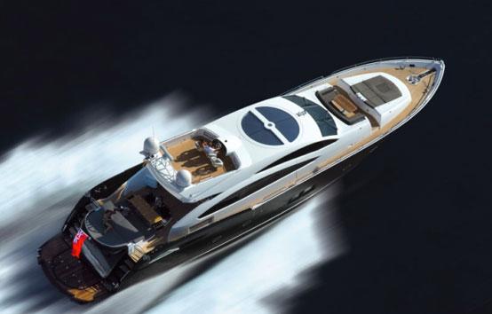 Ibiza Yacht Charter Sunseeker Predator 92