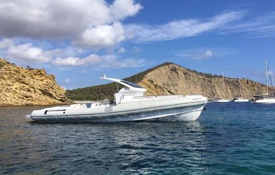 Ibiza RIB Charter Pirelli Pzero 1100