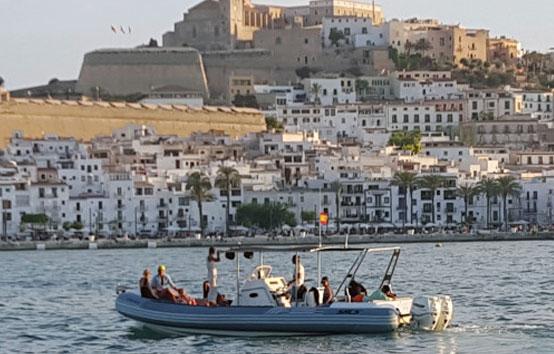 Ibiza RIB Charter Sacs 33
