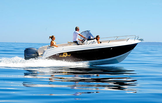 Ibiza Motorboat Charter Pacific Craft 625