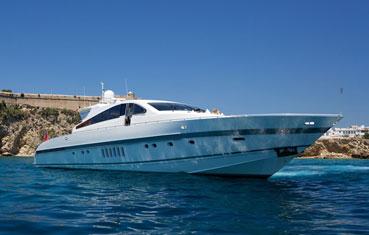 Yacht Leopard 89