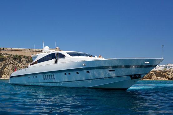 Ibiza Yacht Charter Leopard 89