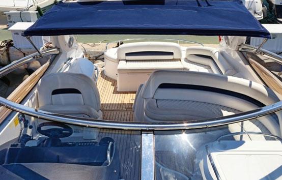 Ibiza Yacht Charter Sunseeker Portofino 49