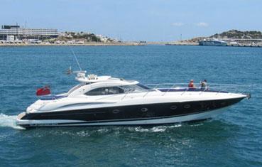 Ibiza Yacht Charter Sunseeker Predator 60