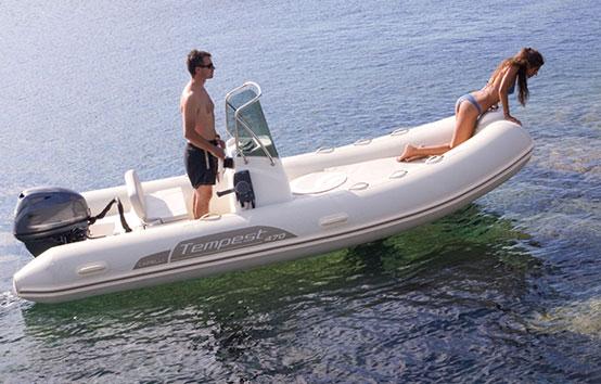 Ibiza Zodiac Charter Capelli Tempest 470
