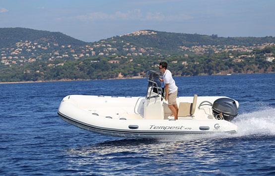 Ibiza Zodiac-Charter Capelli Tespest 470