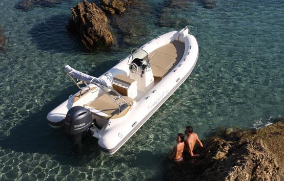 Ibiza Zodiac Charter Capelli Tespest 650