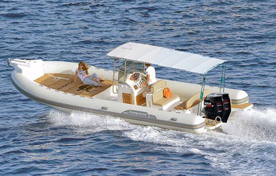 Ibiza Zodiac Charter Capelli Tempest 900