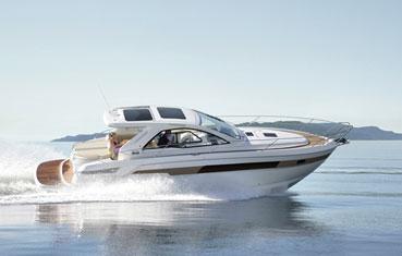 Ibiza Motor Boat Charter Bavaria 39 ht exterior