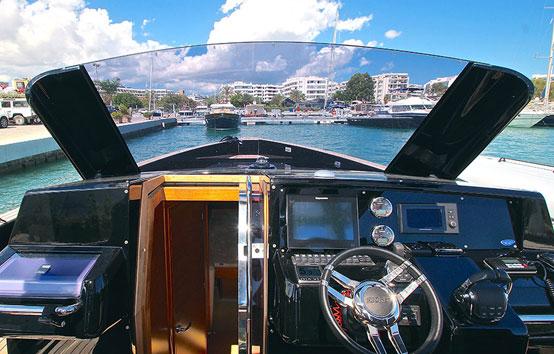 Alquiler lancha en Ibiza Fjord 40 Open