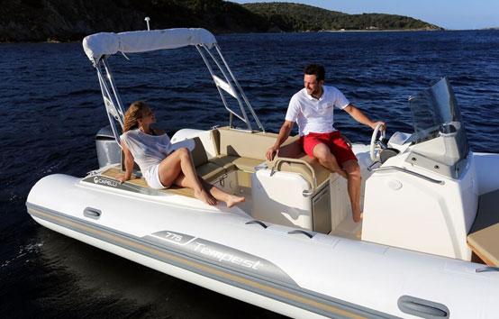 Ibiza zodiac charter Capelli Tempest 775