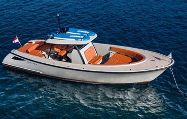 Ibiza motorboat charter Wajer 38S