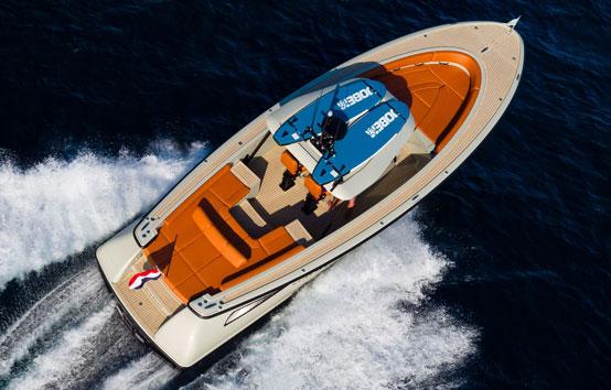 Ibiza zodiac charter Wajer 38S