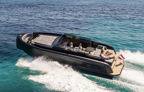 ibiza yacht charter vanquish VQ43