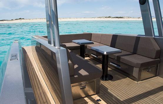 ibiza boat charter vanquish VQ48 DC