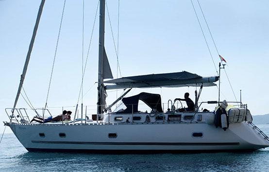 Ibiza sailboat charter Amica 44