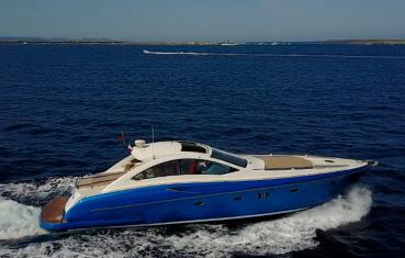 ibiza yacht charter Numarine 55