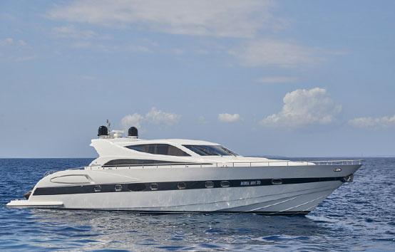 ibiza yachts charter Alfamarine 78