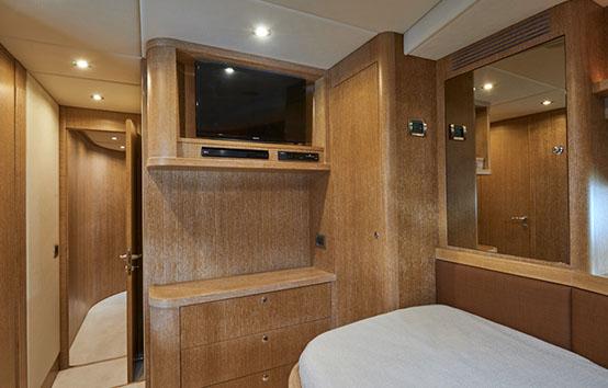 ibiza yachts charter Alfamarine 78 interior