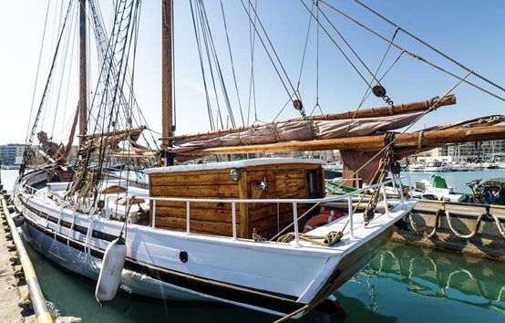 Ibiza sailboat events charter 36 people