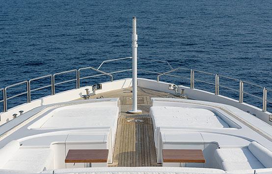 ibiza mega yacht charter Leopard 42m