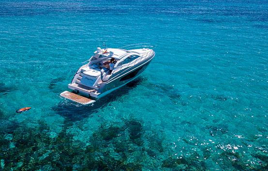 ibiza motorboat charter Sessa C44