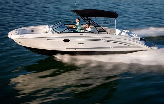 ibiza motorboat charter Sea Ray 290 SDX