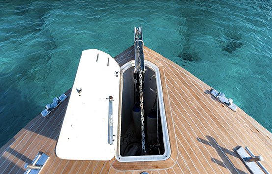 Ibiza motorboat charter Alen 42