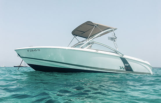 ibiza motorboat charter colbat 220