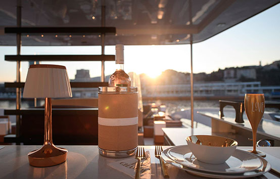 Luxury catamaran charter on Iibza