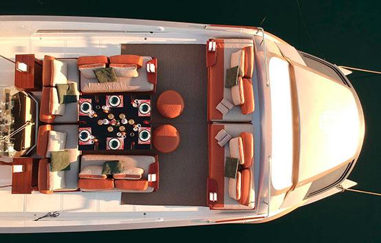 Luxury catamaran charter on Iibza