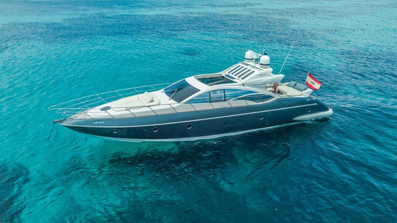 Las Dalias Ibiza en barco