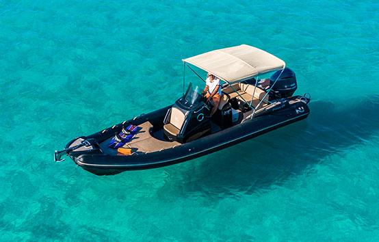 RIBS charter Ibiza nuova jolly 25