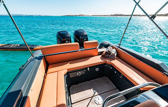 RIBS charter Ibiza nuova jolly 30
