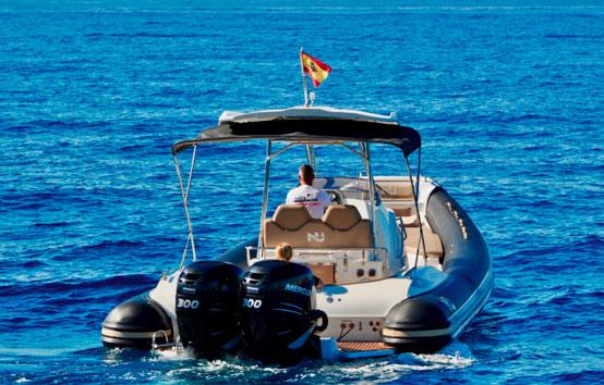 RIBS charter Ibiza nuova jolly 35