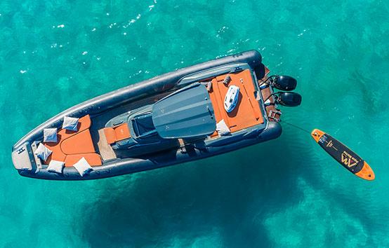 RIBS charter Ibiza nuova jolly 38